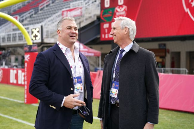 Oliver Luck XFL Cell Phone