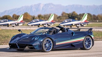 The Jet-Inspired $6.735M Pagani Huayra Tricolore Hypercar Is So Rare Only 3 Are Being Made