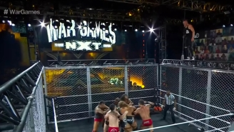 Pat McAfee's Performance At 'NXT Takeover: WarGames' Was Impressive As Hell – Here Are Some Of His Craziest Moments