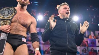 Pat McAfee Reacts To Being 'Fired' From WWE On Christmas Day
