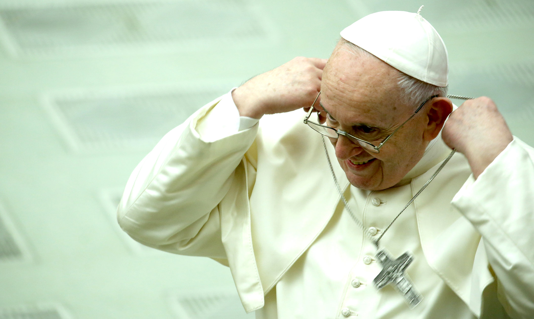 The Pope keeps getting busted for liking sexy model photos on Instagram
