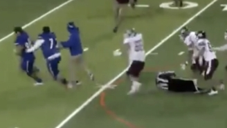 This Texas High School Football Player Body Slammed The Referee After Being Thrown Out Of The Game