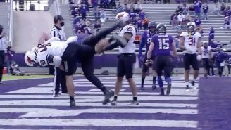 This Oklahoma State Defensive End Hip-Tossed A Massive Offensive Lineman And Made Him Look Like A Rag Doll