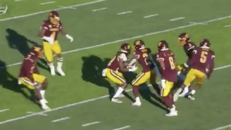 Central Michigan Attempted Trick Play On Special Teams That Failed So Badly They Ended Up Fumbling Away Possession