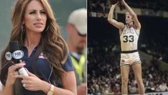 Holly Sonders Finds Rare Mint-Condition Larry Bird Card Worth An Estimated $25K