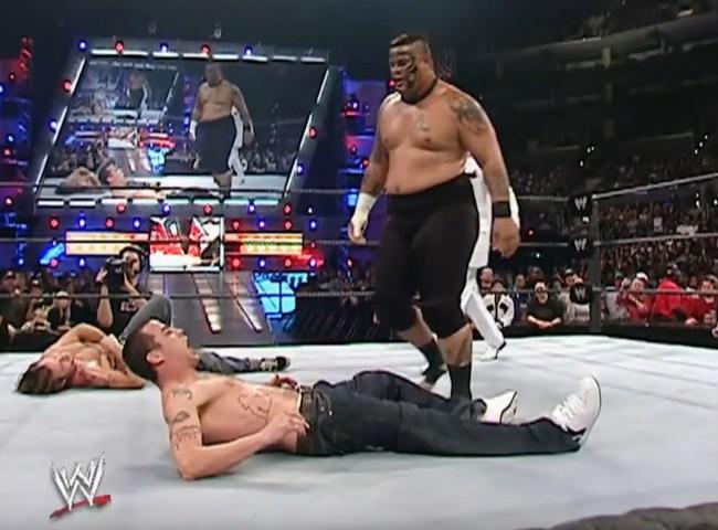 Steve-O Umaga WWE Raw