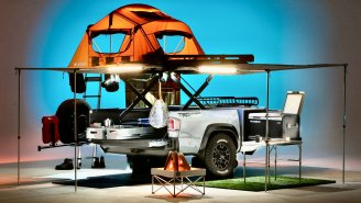 Toyota's TRD-Sport Trailer Has Everything You Need For The Ultimate Camping Adventure – Including A Toilet