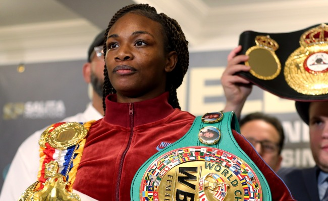 World Champ Claressa Shields Says Shed Beat The S--t Out Of Jake Paul