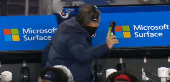 Angry Bill Belichick instantly became the best meme of the NFL season