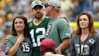 Aaron Rodgers Discussed An Odd Responsibility He Was Tasked With As A Rookie Under Brett Favre