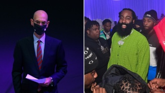 Fans Blast NBA Commissioner Adam Silver After He Said He Didn't Suspend James Harden Over Maskless Club Video Because 'It's Christmas'