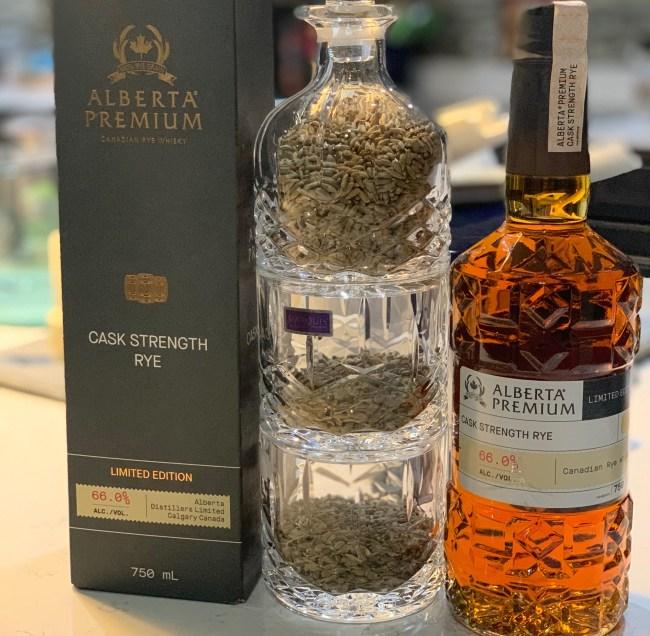 Alberta Premium Cask Strength Rye Whiskey