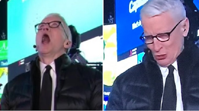Anderson Cooper's Reactions After Taking Tequila Shots During CNN's 2020 NYE Show Are Hilarious