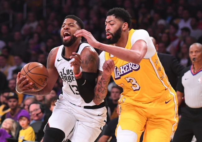 Lakers star Anthony Davis says Paul George tried getting him to play on the Pacers before LeBron James started recruiting him