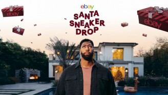 Anthony Davis Is Dropping 500 Pairs Of Sneakers For eBay This Holiday, And You Can Win Them In A Virtual Experience