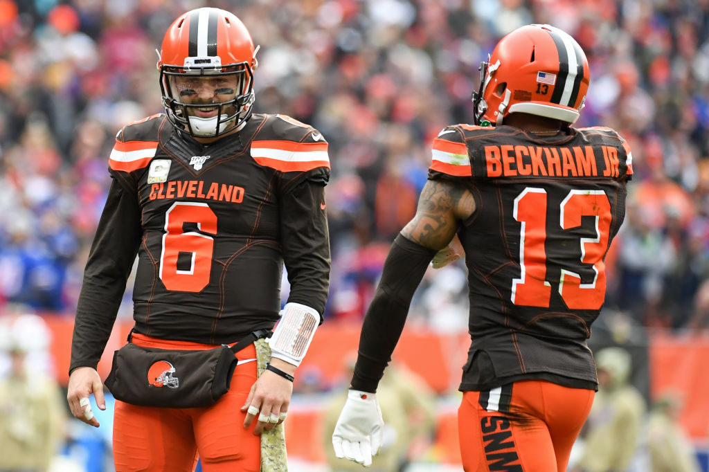 Mike Greenberg Makes Intriguing Argument That Baker Mayfield Is Better  Without Odell Beckham Jr. - BroBible