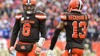Mike Greenberg Makes Intriguing Argument That Baker Mayfield Is Better Without Odell Beckham Jr.