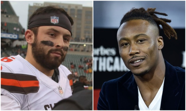 brandon marshall baker mayfield comments