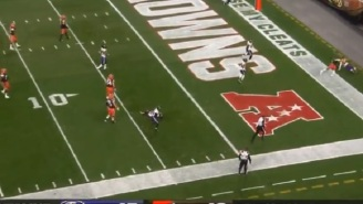 Gamblers Who Bet On The Browns +3 Were Absolutely Sick After Bizarre Safety In Final Seconds Of Game Costs Them Money