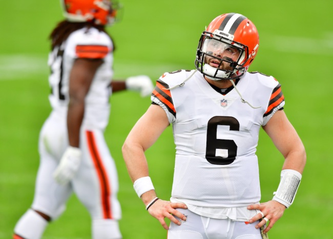 Twitter reacts to Colin Cowherd saying Baker Mayfield's Browns career could be over if he performs terribly against the Titans