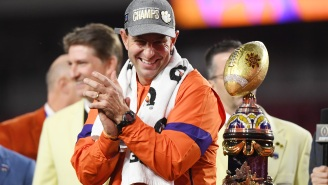 Dabo Swinney Claps Back At Butthurt Ohio State Fans Who Cried About His Final Coaches' Poll