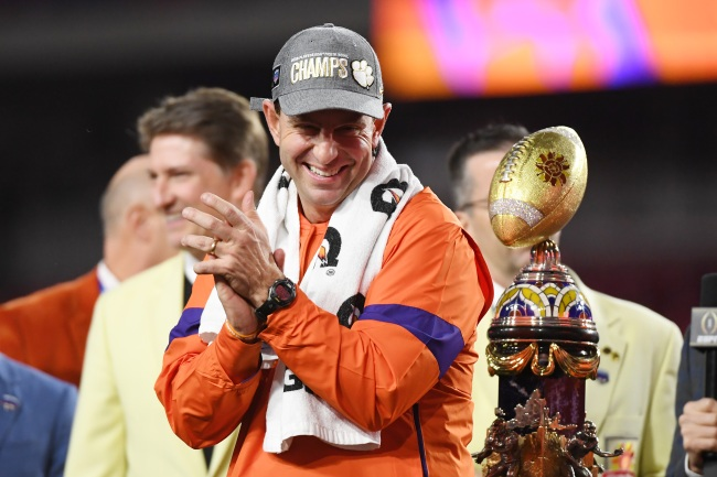 Clemson football coach Dabo Swinney responds to Ohio State fans upset with his final coaches' poll