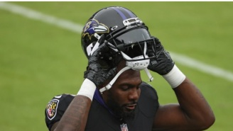 Fans Blast The NFL For Playing Ravens-Cowboys Game After Dez Bryant Was Seen Hugging Multiple Players Minutes Before Testing Positive For Covid-19