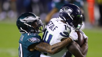 Eagles' Darius Slay Gets Mocked By NFL Fans After Getting Destroyed By DK Metcalf On 'Monday Night Football'