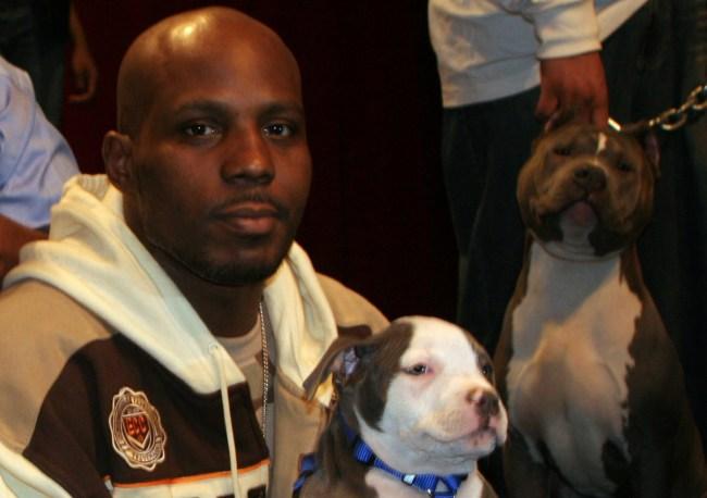 dmx trained dog bark rap battle