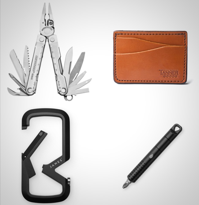 everyday carry essentials gift ideas