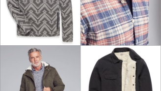 From Parkas To Sweats To Badass Flannels, Faherty Has Everything Guys Want This Holiday Season