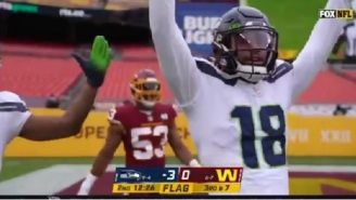NFL Fans React To FOX Debuting New Camera Angle During Washington-Seahawks Game With Amazing HD Video Quality