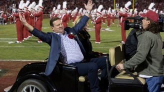 Bob Stoops Comes Out Of Retirement To Help Out Oklahoma's Depleted Coaching Staff