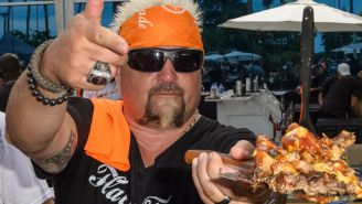 You Can Now Have Guy Fieri's Legendary Trash Can Nachos Delivered Straight To Your Door
