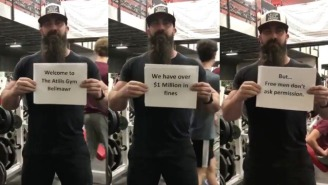 NJ Gym Owner Who's Racked Up $1.2 Million In Fines For Refusing To Close Raises Hundreds Of Thousands For Defense Fund