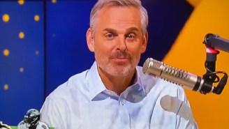 Horny FS1 Host Colin Cowherd Randomly Reveals He Has 'Plenty Of Whips' At Home