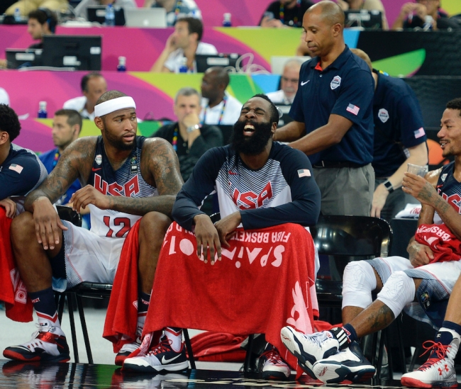 James Harden's new Rockets teammate, DeMarcus Cousins, says he isn't even trying to convince the former MVP to change mind on trade request