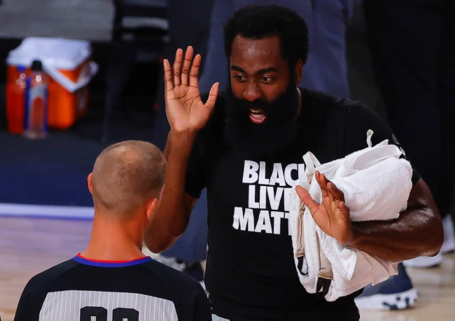 NBA Fans roasted James Harden for saying his personal trainers were the reason he wasn't with the Rockets