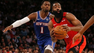 Things Are So Bad Between James Harden And The Rockets That He Reportedly Views Them As 'Knicks Of The South'