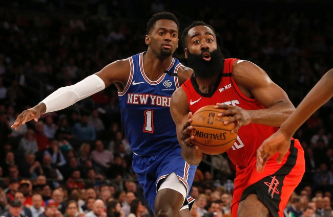 """Former MVP James Harden reportedly views Houston Rockets as the """"Knicks of the south"""""""