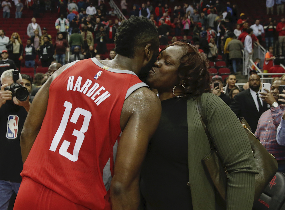 James Harden's Mom Appears To Go On IG To Confirm And ...