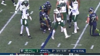 NFL Fans Mock Jets Defenders For Celebrating And Talking Trash To Seahawks Players While Getting Blown Out By 30 Points