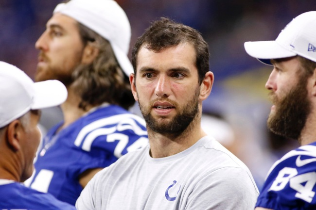 Indianapolis Colts owner Jim Irsay still sounds sad over Andrew Luck abruptly retiring before the 2019 NFL season