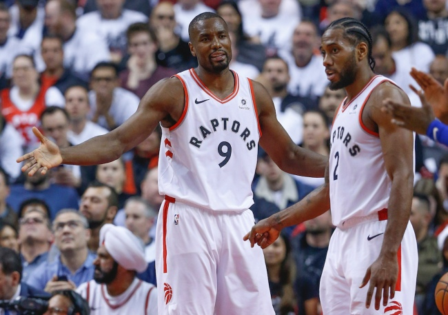 The hilarious recruiting pitch from Kawhi Leonard to get Serge Ibaka to sign with the Clippers is revealed