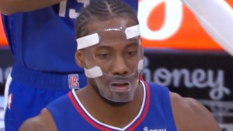 Kawhi Leonard Gets The Meme Treatment After Debuting New Face Mask That Looks Like It Came Straight Out Of A Horror Movie