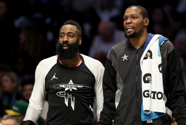 Kevin Durant denies recruiting his buddy James Harden to the Brooklyn Nets, but should we believe him?