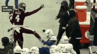 Mississippi State WR Malik Heath Brags About Kicking Downed Tulsa Player In The Head During Armed Forces Bowl Brawl On Instagram
