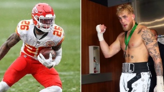 Chiefs' RB Le'Veon Bell Calls Out Jake Paul To A Fight After Posting Video Of Himself Boxing