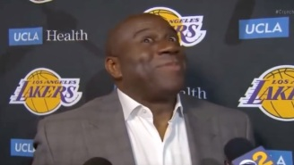 Lakers Fans Blast Magic Johnson For Getting Championship Ring Despite Quitting On Team And Causing Drama