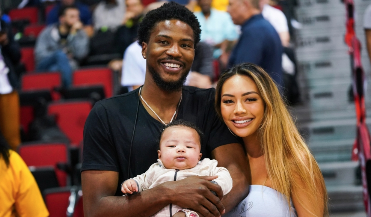 Malik Beasley turns the knife on his wife and son after getting busted cheating